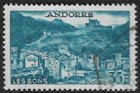 Andorra (French POs) SG F157 1957 Definitive 35f good/fine used